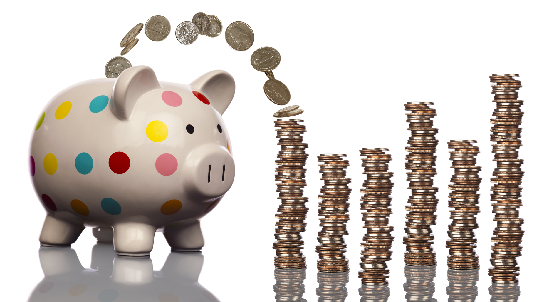 This little piggy bank saved stacks and-stacks of cash